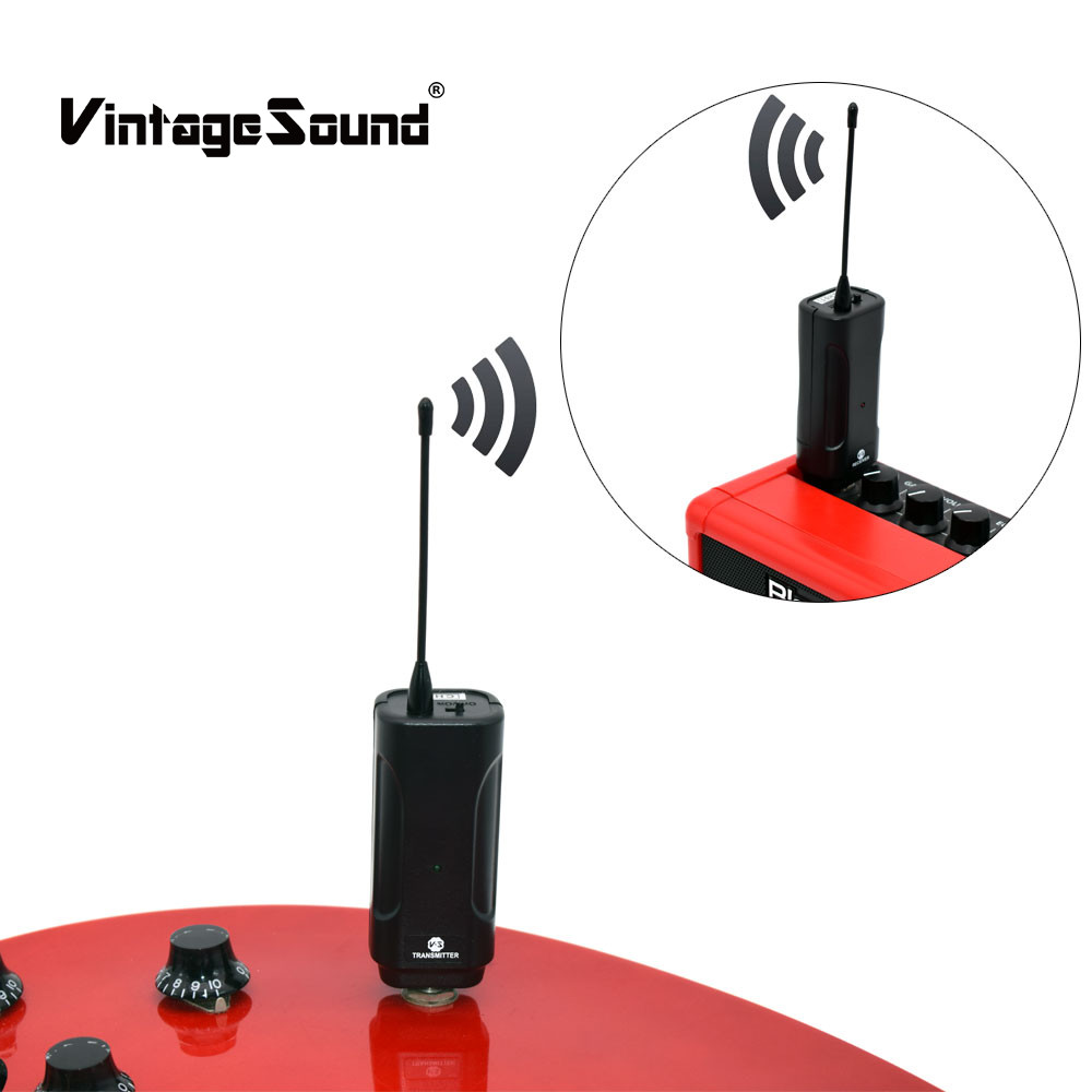 все цены на Audio Wireless Guitar Transmitter and Receiver Digital Guitar Wireless System Jack Cable Transmission Set Bass Violin Ukulele