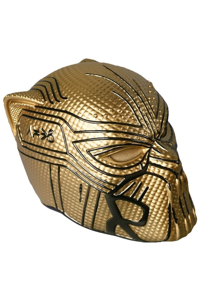 2020 Black Panther Gold Leopard Eric Halloween Cosplay Mask Full Helmet Props