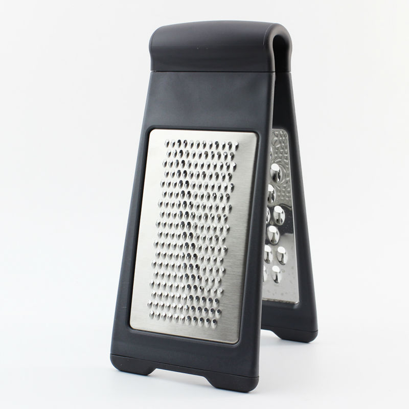 High quality Stainless steel potato grater carrot grater handy vegetable grater double side grater