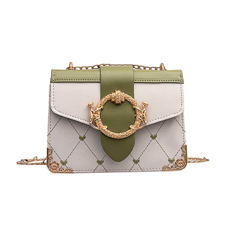 Pu Shoulder Bag Small Square Ladies Famous Luxury High Quality Wild Chain Summer New Women 2019