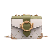Pu Shoulder Shoulder Bag Small Square Bag Ladies Famous Luxury High Quality High Quality Wild Chain Summer New Women Bag 2019 цены