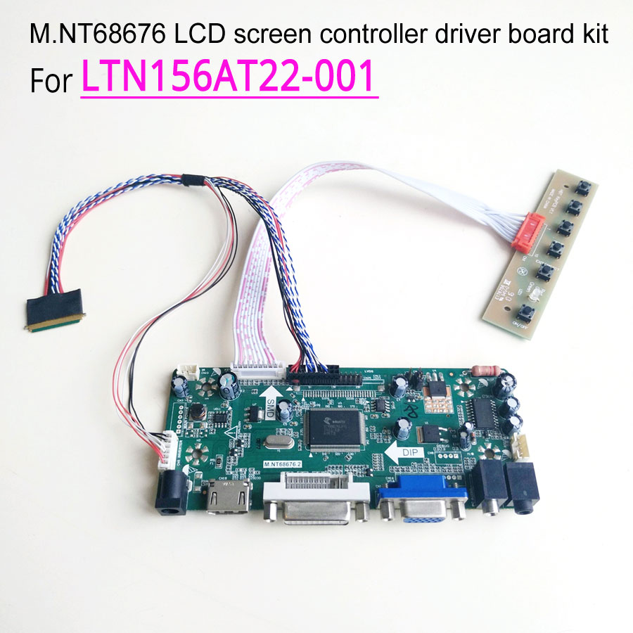 For LTN156AT22 001 LVDS 15 6 inch 60Hz laptop LCD panel WLED 1366 768 40 pin