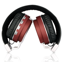 Metal sport-beat bluetooth headset packable folding wireless headphone with microphone for computer for iphone earphone gaming