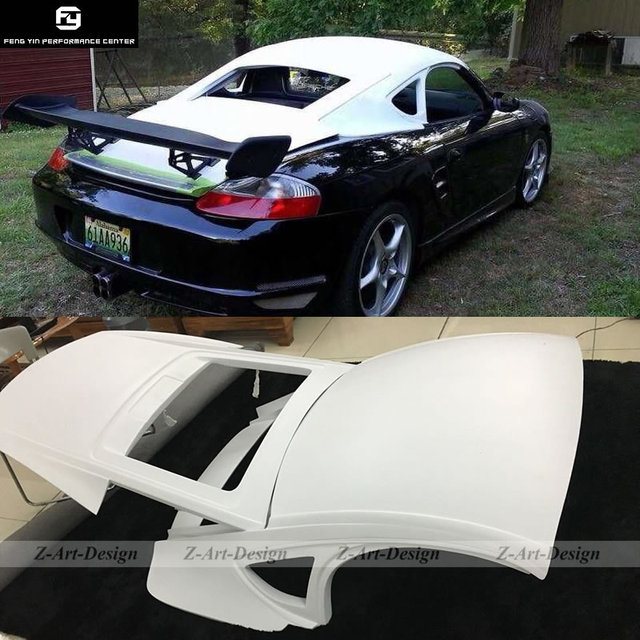 986 Car Body Kit Glass Fiber Hardtop For Porsche Boxster 986 Hard