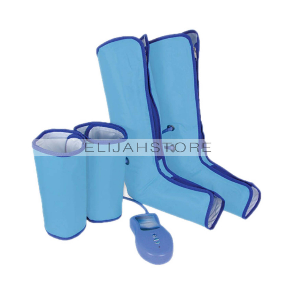 17 New Ankle Therapy Massage Slimming Legs Foot Massager Air Compression Leg Wrap Boot Socks Heating Sauna Belt Relax Vibrator 14