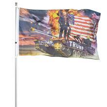 Горячая Трамп Танк флаг держать Америку Большой США флаг из полиэстера баннеры 3*5 футов с латунными Люверсами