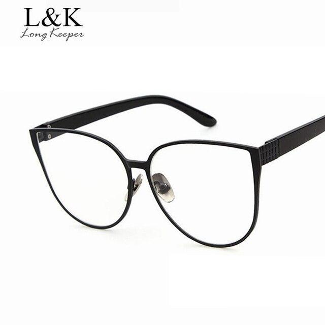 Long Keeper moda estilo ojo de gato ojo Gafas Marcos s para las ...