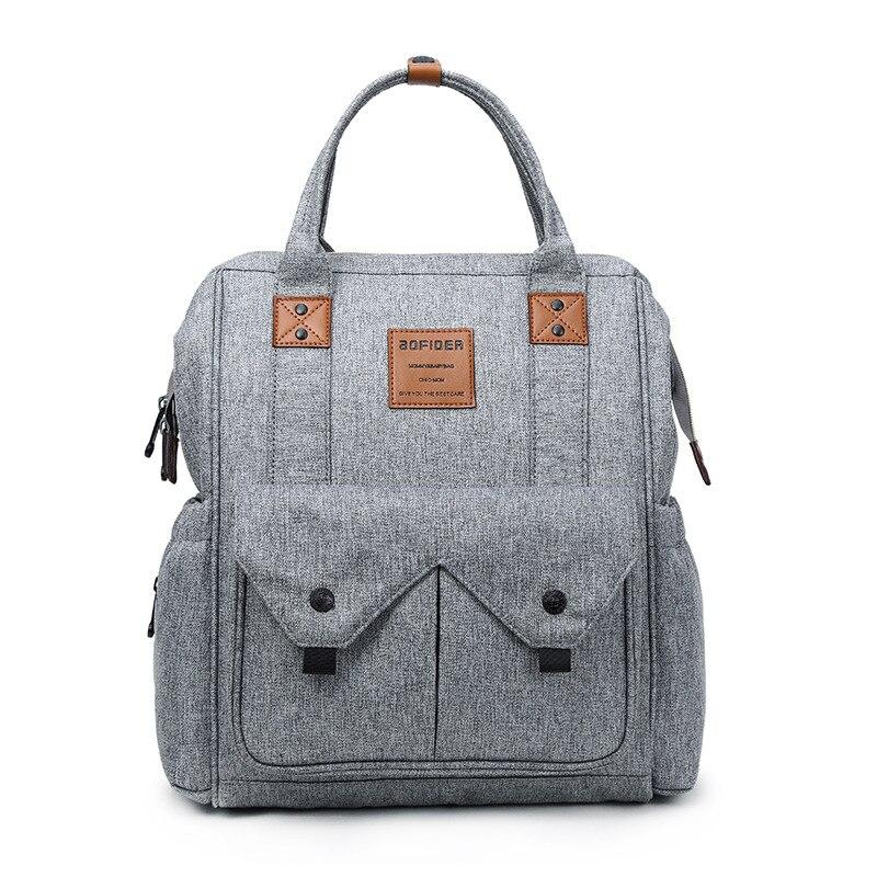 2019 Diaper Bag For Mommy Maternal Nappy Backpack Stroller Baby Infant Care Organizer Nursing Changing Bags Bolsa Maternidade