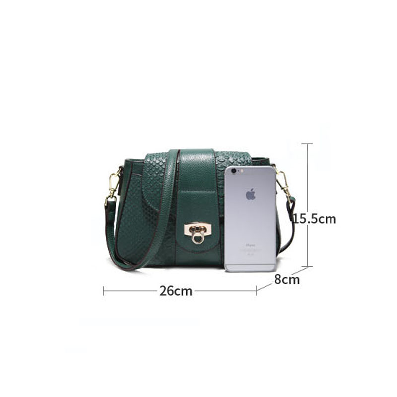 Women 39 s real leather massager bag High Quality lady shoulder bag of Famous Brand luxury genuine leather female bag in Shoulder Bags from Luggage amp Bags