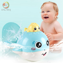 Cute Bath Toys For Baby Candy Color Plastic Whale Room Bed C
