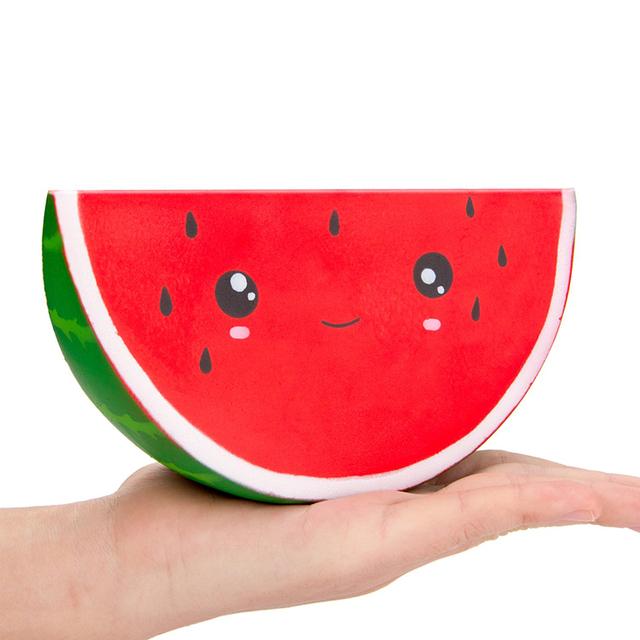 Kawaii Bright Watermelon Squishy Toy