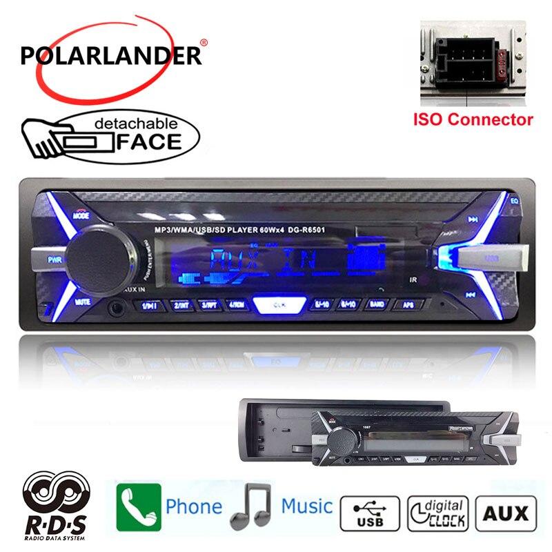 font b radio b font cassette player detachable panel Autoradio FM USB TF card Auto