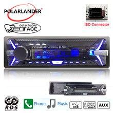 Radio cassette player pannello staccabile Autoradio FM della carta di TF USB Auto Auto radio veloce 1 din telecomando RDS + auto nastri