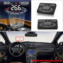 Car HUD Head Up Display For Benz CLK Class W209 2008 Refkecting Windshield Screen Safe Driving