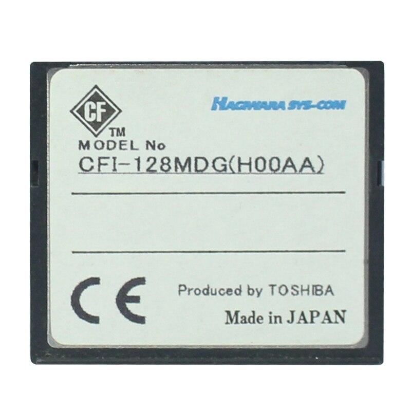 Original 128 mo carte Flash compacte carte mémoire CF carte CFI-128MDG (H00AA) en gros carte mémoire Flash Compact pour appareil photo numérique