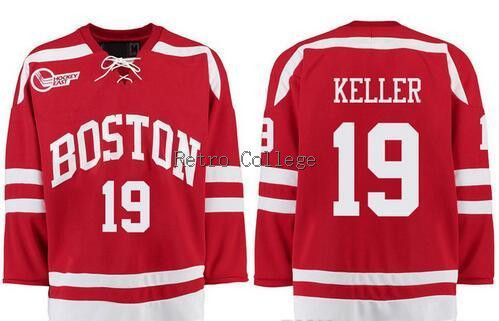Wisconsin Badgers 19 clayton keller Red