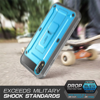 SUPCASE For iPhone XR Case 6.1 inch UB Pro Full-Body Rugged Holster Phone Case Cover with Built-in Screen Protector & Kickstand 4