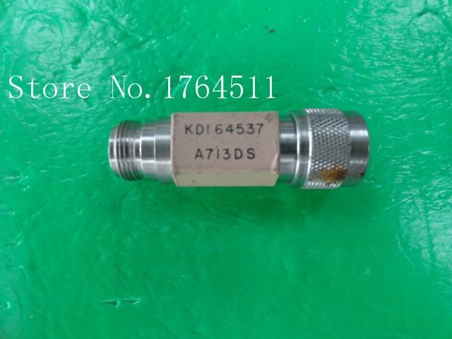 [BELLA] KDI A713DS DC-18GHz 0dB 2W RF Coaxial Fixed Attenuator N