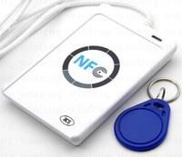 2pcs Lot 13 56 MHz NFC USB Interface Proximity RFID Card Reader And Writer ACR122U NFC