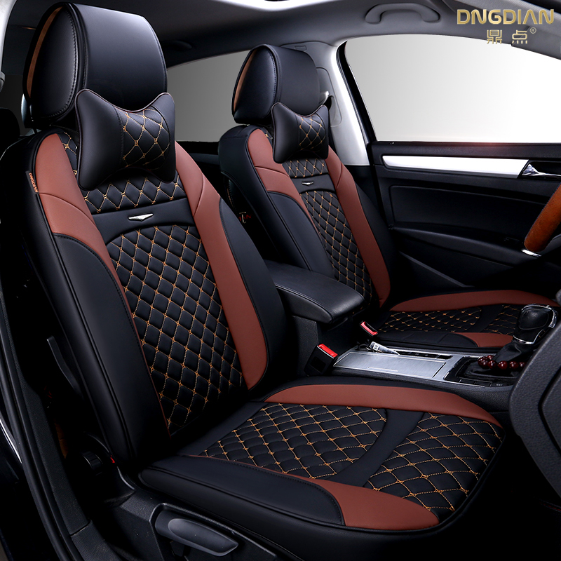 Custom Leather Seat Covers >> 6D Styling Car Seat Cover For Ford Edge Escape Kuga Fusion Mondeo Ecosport Explorer Focus Fiesta ...