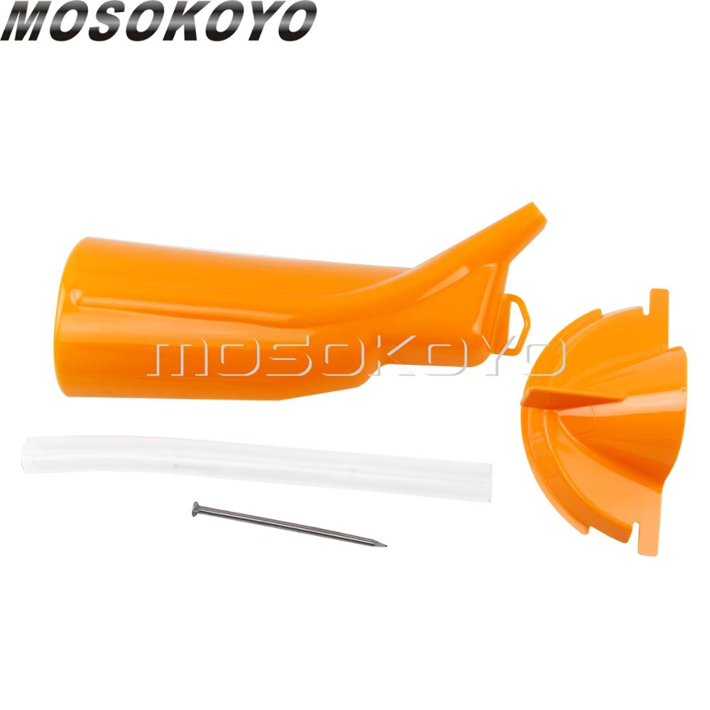 Fittings Oil Filter Funnel Drip-Free Oil Catcher Drain Oil Funnel Primary Oil Fill Funnel for Harley Softail Dyna Touring Sportster 99-17