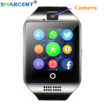 Q18 Bluetooth Smart watch anti-lost TF SIM card smartwatch Passometer Sport Touch Screen camera for Android Phone pk DZ09 A1