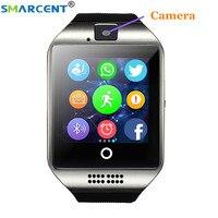 Q18 Bluetooth smart watch anti lost TF karta SIM do smartwatcha Passometer Sport ekran dotykowy kamera do Androida telefon pk DZ09 A1 w Inteligentne zegarki od Elektronika użytkowa na