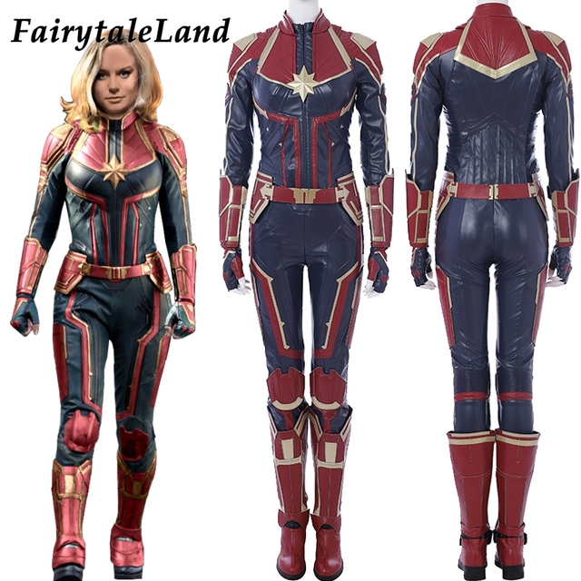 Captain Marvel Costume 4