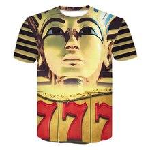 Newest 2019 Brand 3D T Shirt Pharaoh of Egypt Print Men Women Tshirt Mummy Painting T-shirt Tee Tops man big size M-4XL Dropship