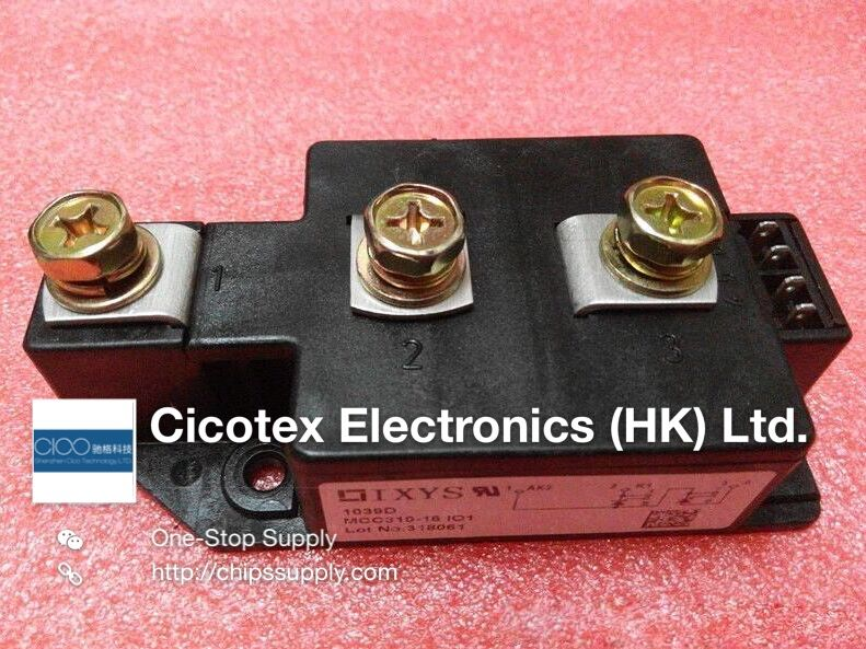 цена на MCC310-14IO1 MODULE IGBT MCC310-14I01