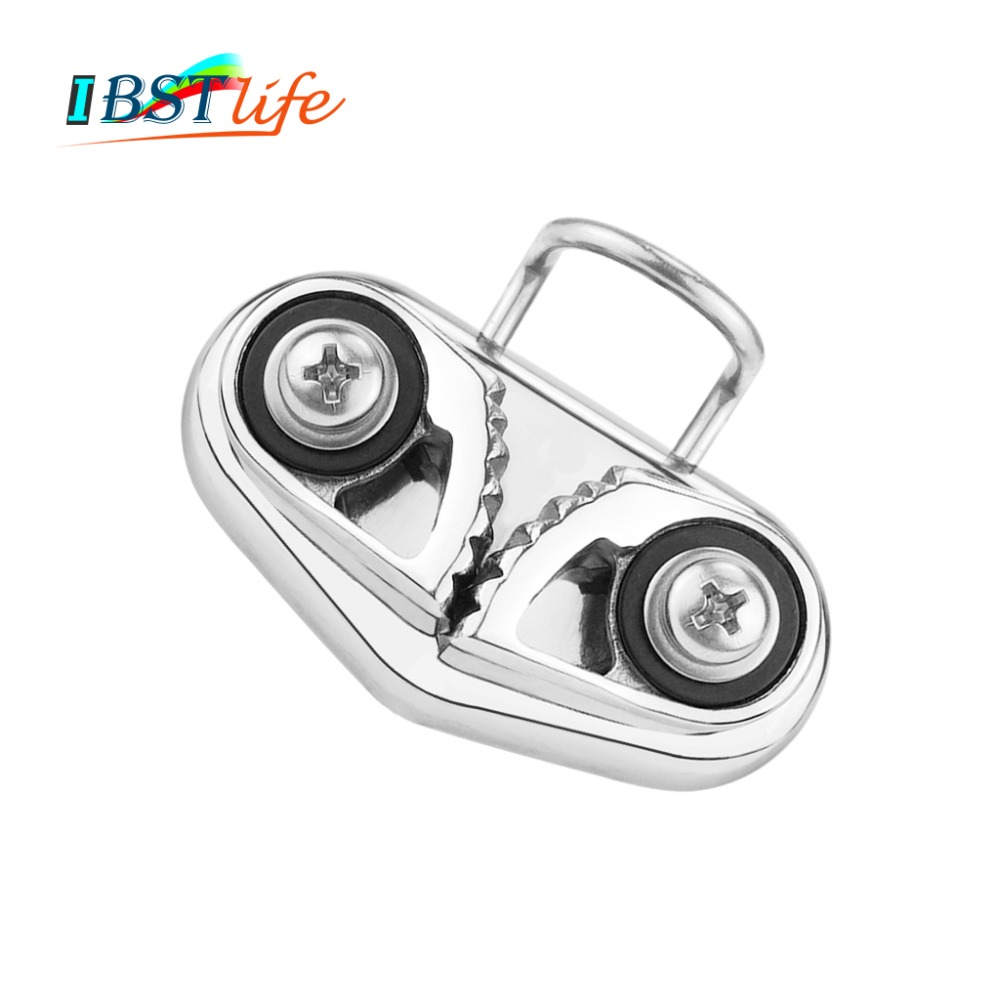 Boat Marine 316 Stainless Steel Fast Entry Rope Cam Cleat Sailing Hardware Gear