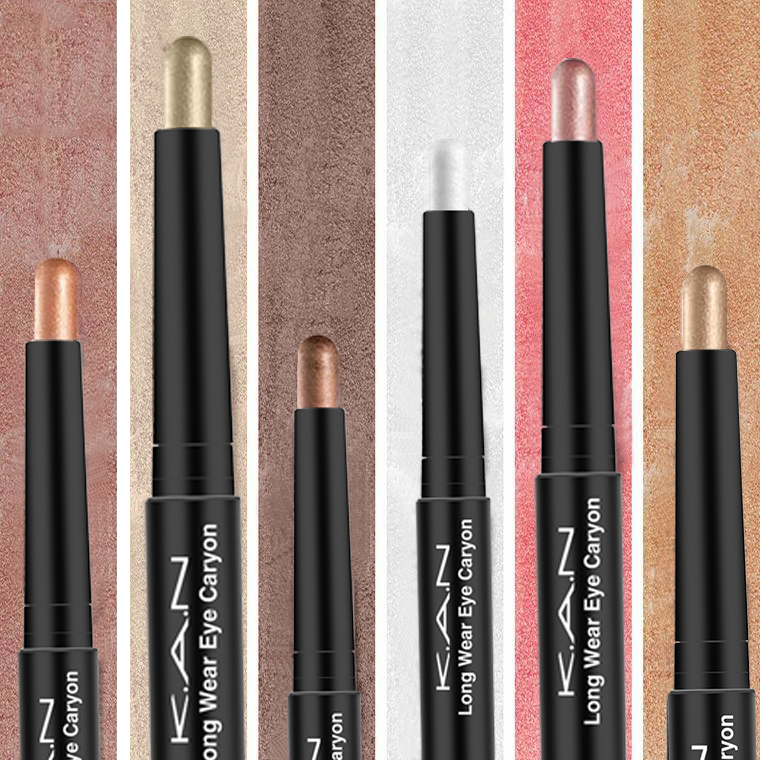 K.A.N Brand 5 Colors Highlighter Eyeshadow Pencil Cosmetic Glitter Eye Shadow Eyeliner Pen Color Pen Stick  By Factory