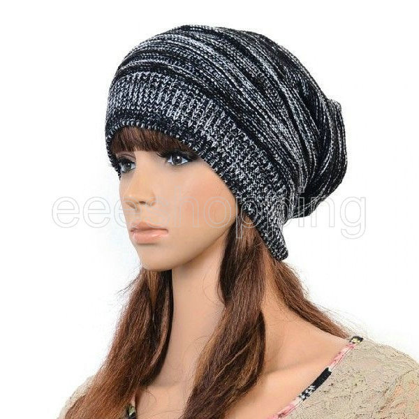 Solid Women Hat Casual Beanie Unisex Skullies Beanies Winter Hats For Women Winter  Hat Beanie Hats For Women-in Skullies   Beanies from Apparel Accessories ... 9eab3c1a045