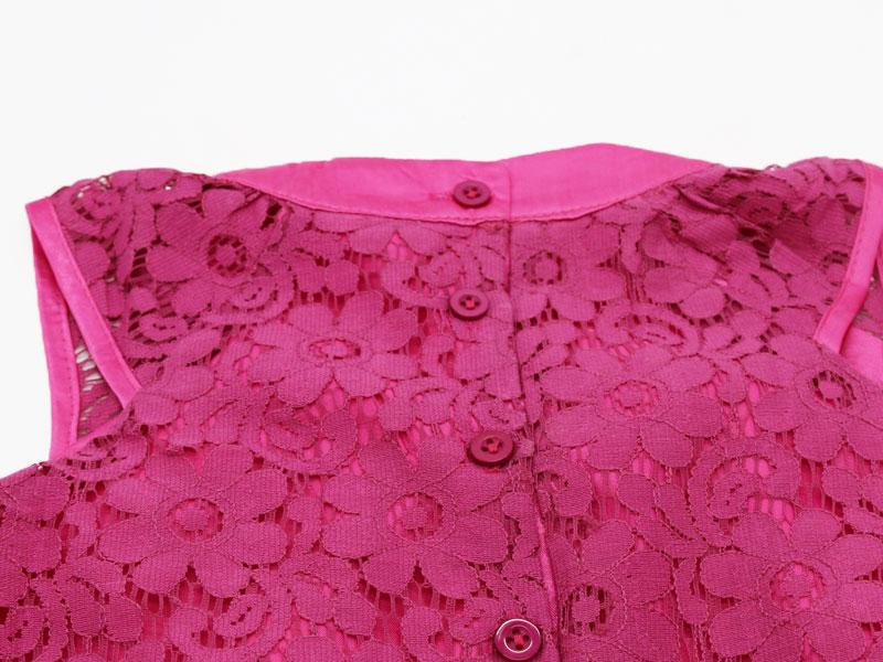 HTB1wE5YX2NNTKJjSspcq6z4KVXaw - AiLe Rabbit Summer Style Lace Girls Dress Baby Girls Casual Dresses Children's Clothing Vestidos Infantis Toddler Girl Clothing