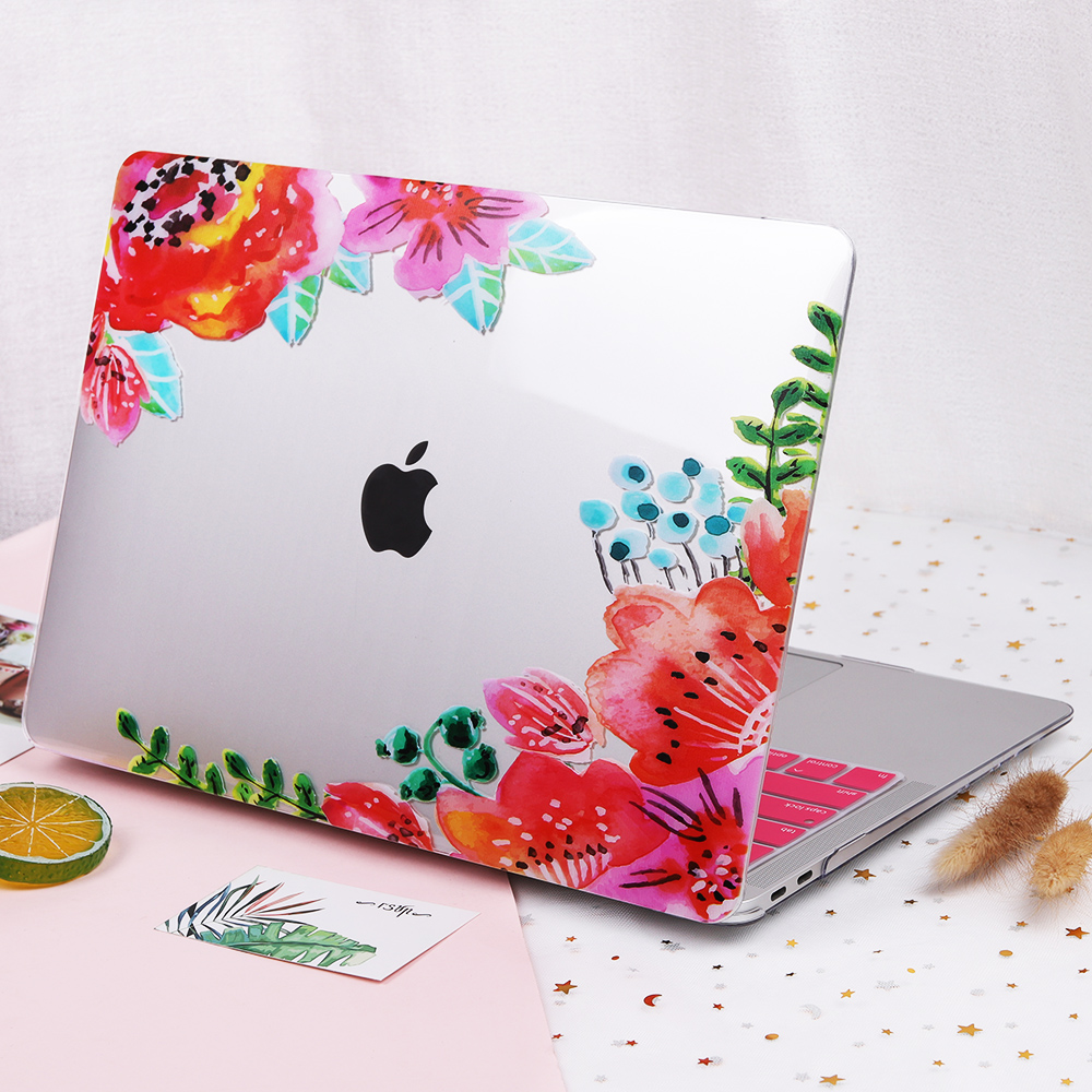 Floral Case for MacBook 132