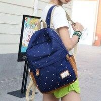 Hot Sale 2015 New Women Backpack Printing Backpack School Backpacks Canvas Backpack 0056