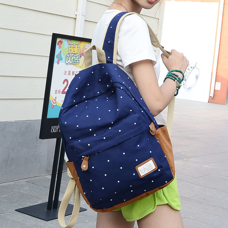 2015 Backpack Printing Backpack School Backpacks Canvas Backpack 0056