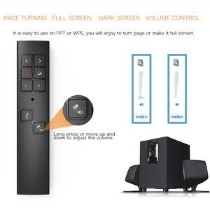 Image 5 - PP930 Wireless Presenter PPT Flip Kugelschreiber Air Maus Präsentieren Fernbedienung Wiederaufladbare 30m Rutsche Laser Pointer Multimedia Tasten