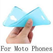 Factory Outlet Soft Case Para Motorola Moto Z2 E4 E3 G5 G4 G3 Z2 Z X Estilo de Jogo C Plus Shell Capa TPU Protector habitação
