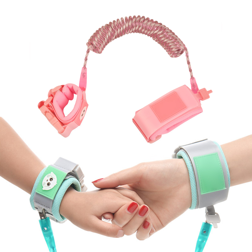 Upgrade Anti Lost Wrist Link Toddler Leash Safety Harness Baby Strap Rope Children Walking Hand Belt Band Walker Leash For Kids