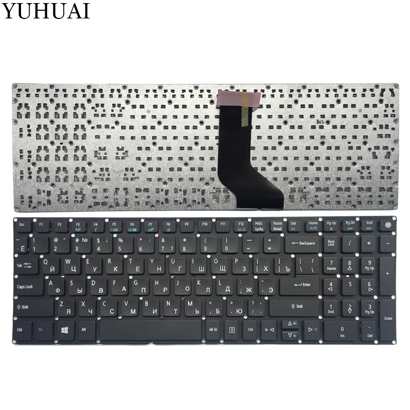 NEW Russian Keyboard for ACER Aspire 5 A517 A517-51-5832 A515 A515-51 A515-51G RU black keyboard a517 51g 56ll