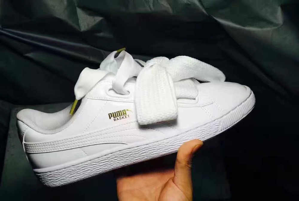 365170ee3b8 2018 New Arrival PUMA Suede Heart Womens Sneakers Badminton Shoes size 36-39