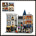 IN STOCK New LEPIN 15019 4002pcs Assembly Square Creator City Series Model Building Kits toy Blocks Bricks Compatible 10255