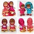 Russian Princess doll MashaBear plush baby toy masha and bear toys kawaii elsa and anna princess brinquedos kids dolls hot sale