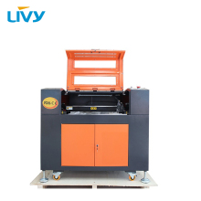 80W EFR RECI  laser tube portable CNC wood engraving cutting machine with free CW3000 water chiller