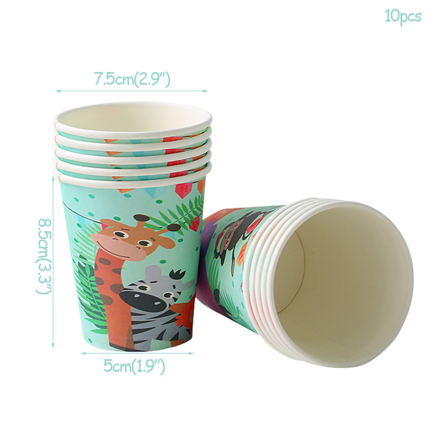 10pcs paper cup