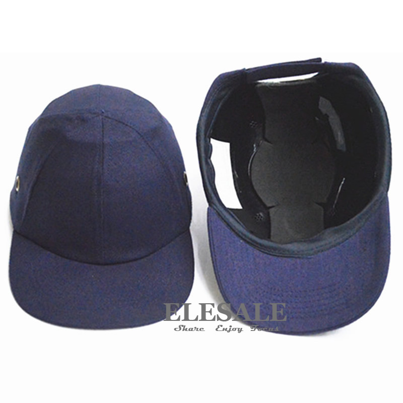 safety baseball bump cap hard hat helmet abs protective shell pad for work shaped