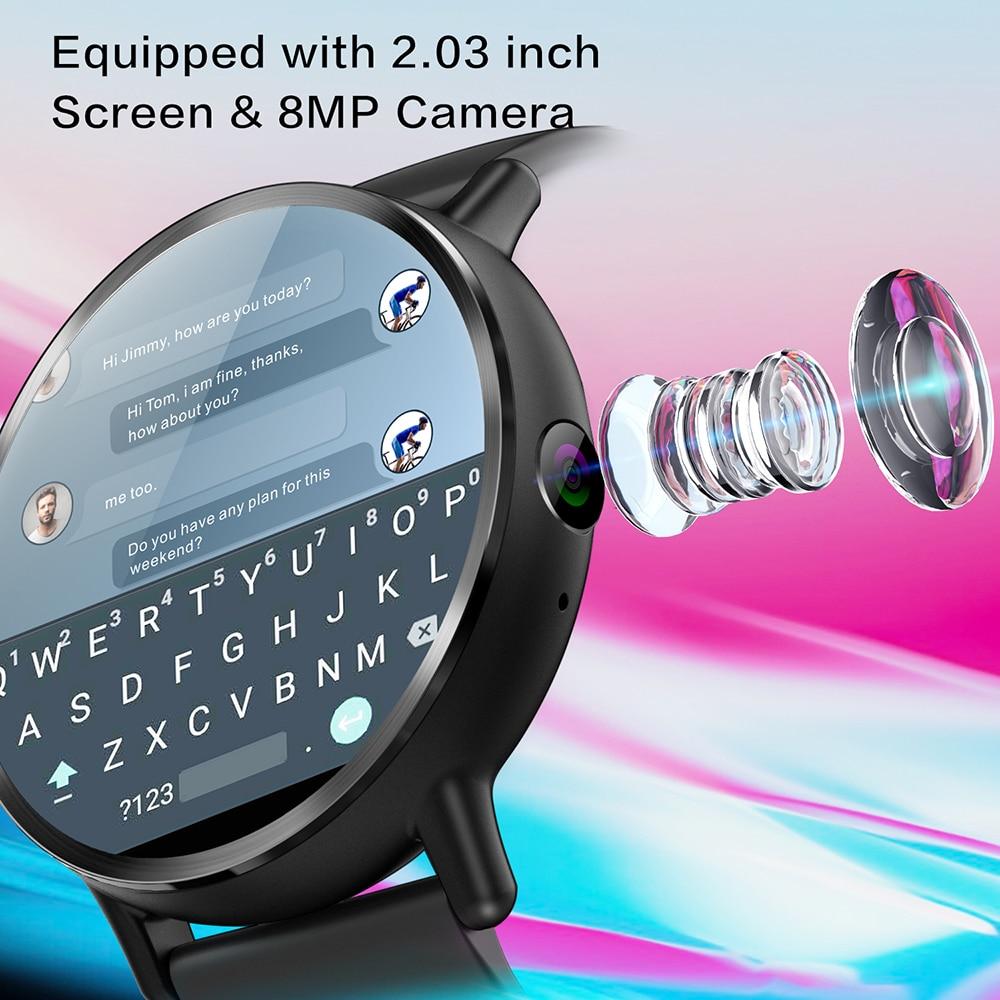 HTB1wE8AwnmWBKNjSZFBq6xxUFXal - LEMFO LEMX LEM X 4Gスマートウォッチ携帯電話Android 7.1 16GB + 1GB 8MPカメラ900mAh 2.03タッチスクリーンSmartWatch GPS Nano SIM WIFI