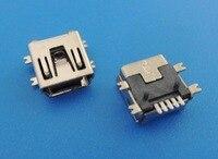 10PCS Mini USB Type B Female 5 Pin SMT SMD PCB Socket Connector Short body USB 50 pcs micro usb type b female socket 180 degree 5 pin smd smt jack connector