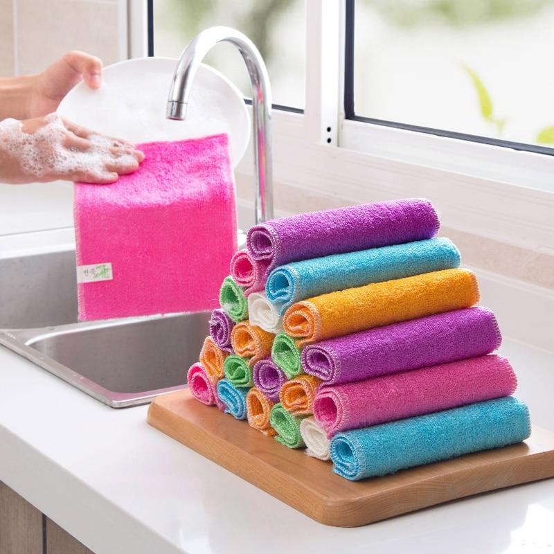 Micro Fibre Cuisine foulards 3 pièces Gastronomie cuisine foulards de polissage chiffons